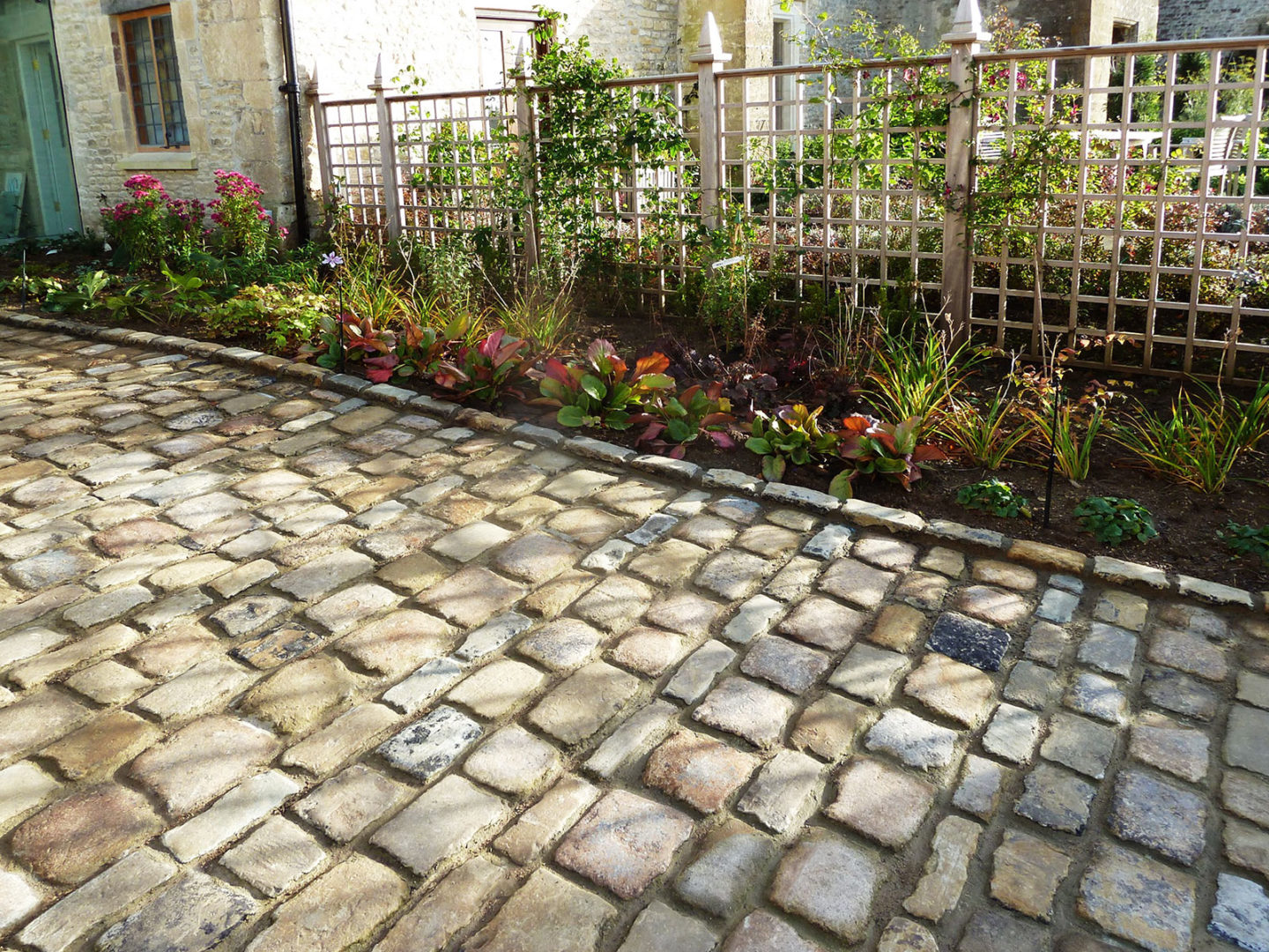 York stone setts and cobbles